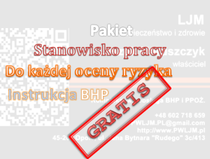Instrukcja BHP gratis