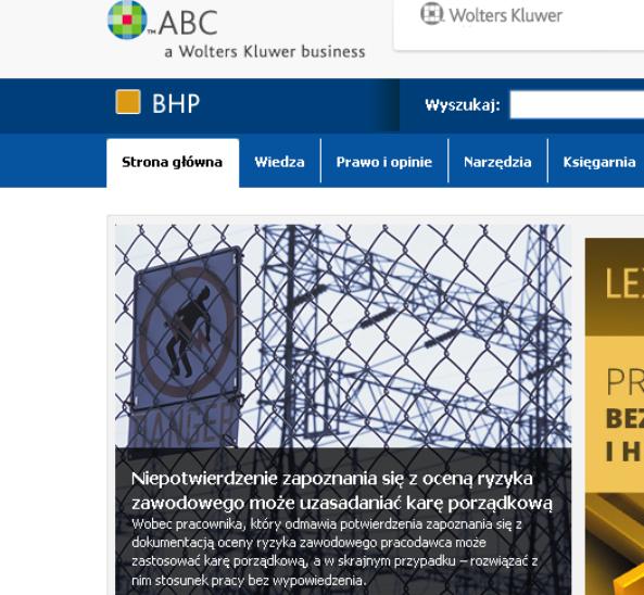 Serwis Internetowy ABC wydawnictwa Wolters Kluwer S.A.