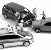 Wypadek drogowy - w drodze do pracy